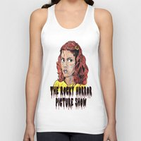 rocky horror picture show Tank Tops featuring The Rocky Horror Picture Show by AdrockHoward