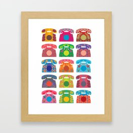 iRetro Framed Art Print