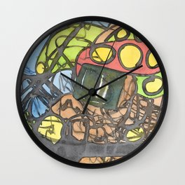 The Sparkle in the Center Wall Clock