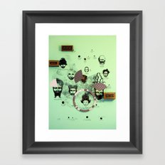 Over and Out!  Framed Art Print