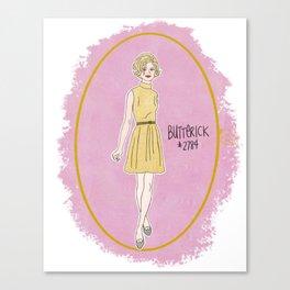 Butterick  #2784 Canvas Print