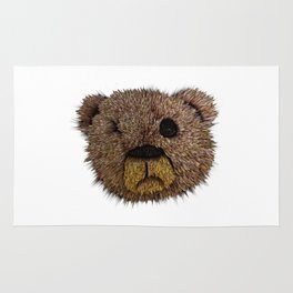 Sad Bear Rug
