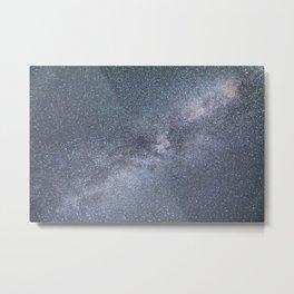 Milky Way Starry Night Metal Print