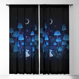 Fungi Forest Blackout Curtain