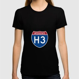 Interstate H-3 Shield  T-shirt