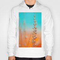 be happy Hoodies featuring Happy  by Marisa Johnson :: Art & Photography