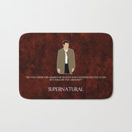 Supernatural - Castiel Bath Mat