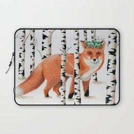 Winter Fox Laptop Sleeve