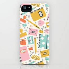 Stationery Love iPhone Case