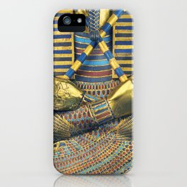 King Pharaoh Tutankhamun T-Shirt Egypt Tut Egyptian Gift Tee Halloween Costume iPhone Case
