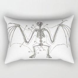 Bat Skeleton Rectangular Pillow