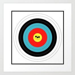 Marksman Target Grouping Art Print