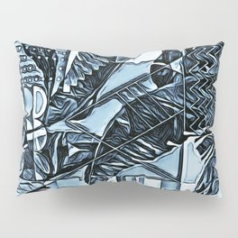 Painted Palms Vacation Mode  Pillow Sham
