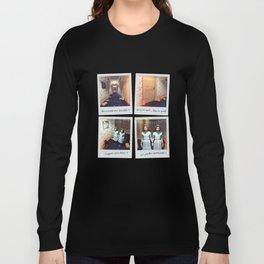 Jumelles et Chocolat Long Sleeve T-shirt