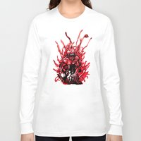 carnage Long Sleeve T-shirts featuring Carnage watercolor by Noel Castillo