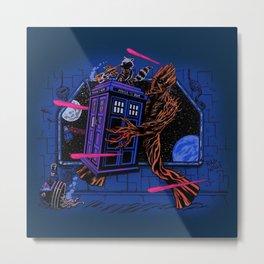 Doctor who Tardis Bad Wolf Metal Print