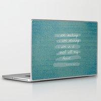 van gogh Laptop & iPad Skins featuring VAN GOGH by Lex Bleile