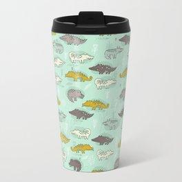 Cute Crocodiles Travel Mug