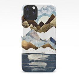 Minimal Abstract Mountains iPhone Case