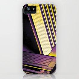 Purple & Gold Escape iPhone Case