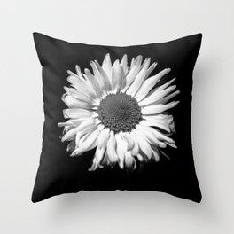 Moody Flower 7 Throw Pillow