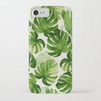 tropical iPhone & iPod Cases featuring TROPICAL by judith van den hoek
