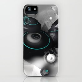 Time Circles iPhone Case