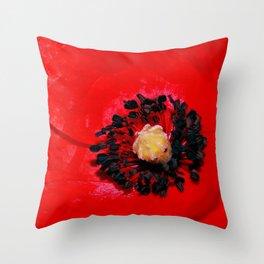 Poppy's Dream Throw Pillow