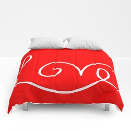 Valentine Love 2 Comforters