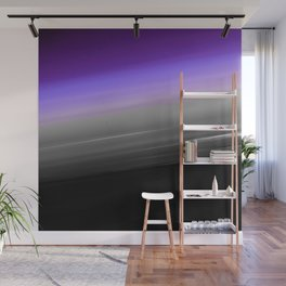 Purple Gray Black Smooth Ombre Wall Mural
