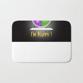 I am Happy Bath Mat