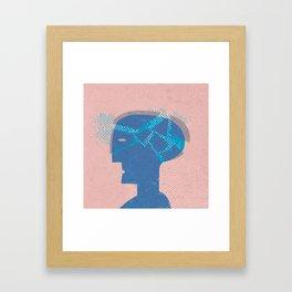 blasthead Framed Art Print