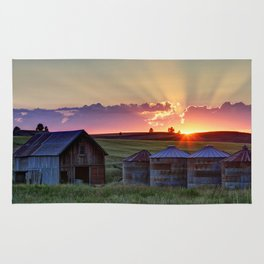 Home Town Sunset Rug