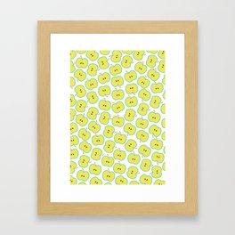 Summer apple Framed Art Print