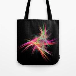 Fluffy neon Tote Bag