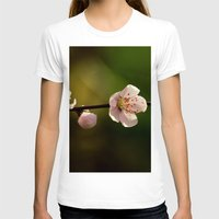 cherry blossoms T-shirts featuring Cherry Blossoms by Ian Bevington