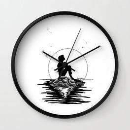 moonlit night Wall Clock