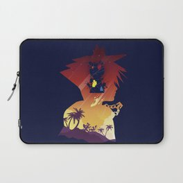 The Many Faces of Games: Kingdom Hearts Sora Ver. Laptop Sleeve