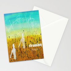 Cleansing process Stationery Cards