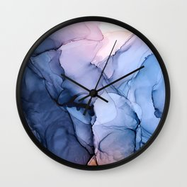 Captivating 1 - Alcohol Ink Painting Wall Clock