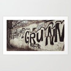 Graffity 1 Art Print