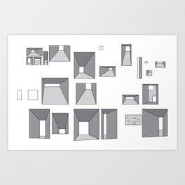 Fenetres Art Print