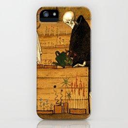 Hugo Simberg - The Garden of Death iPhone Case