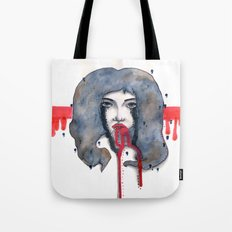 Go on let it Bleed  Tote Bag