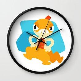Scraggy Wall Clock