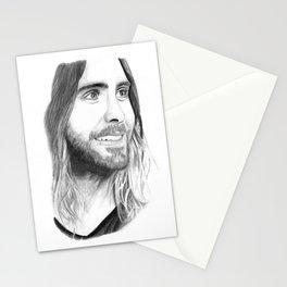 Jared Leto Stationery Cards