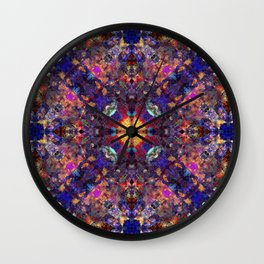 East Of The Sun Wall Clock