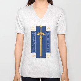 Zelda Poster Unisex V-Neck