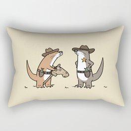 Ottercowboy Rectangular Pillow