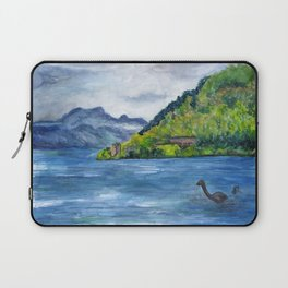 Loch Ness (with Nessie) Laptop Sleeve